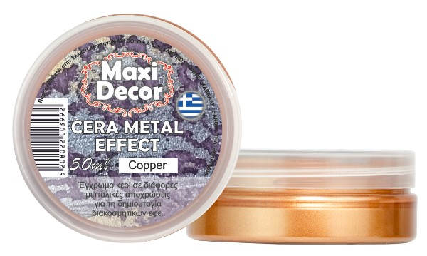 CERA METAL EFFECT copper
