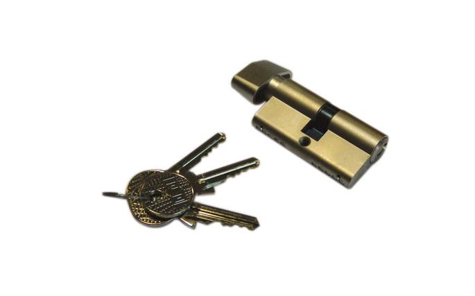 Κύλινδρος πόρτας νίκελ Νο 60mm 70mm & 90mm