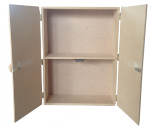 Κουτι Ντουλάπι με ράφι 40x30x10 2051