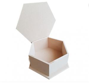 Εξάγωνο MDF κουτί σε 20Χ20Χ9 1001