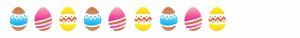 stensil 10χ30 Πασχαλινά αυγά 1299