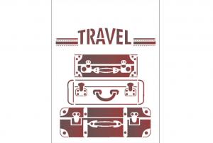 stensil 15χ20 Travel 2050