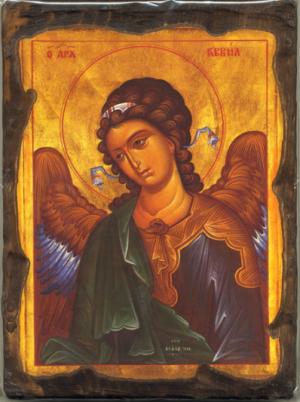Χαρτί Α4 για decoupage Αρχάγγελος Γαβριήλ