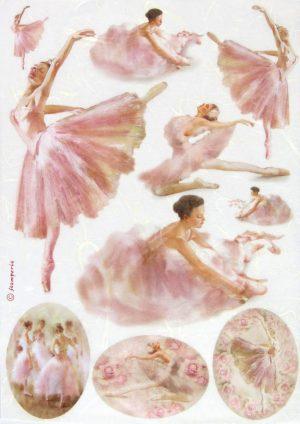 Ριζόχαρτο Α4  40gr Dancers in frames