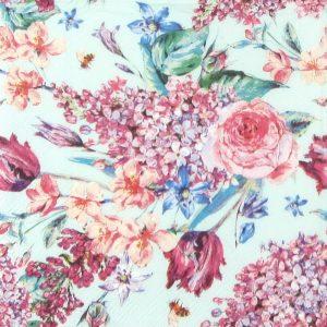 Ριζόχαρτο Α4  40gr Flower Composition Green
