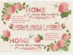 Ριζόχαρτο Α4 40gr Home is where is the heart is