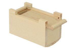 Κoυμπαράς ξύλινος  11 Χ 6,6 Χ 6,8cm