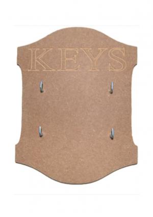 Σχέδιο mdf Κλειδοθήκη