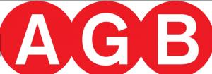 Κλειδαριά καμαρόπορτας AGB  τετράγωνη νίκελ