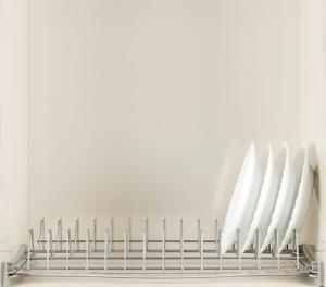 Πιατοθήκη ντουλαπιού νέου τύπου επινικελωμένη  καθιστή-κρεμαστή 116,5cm