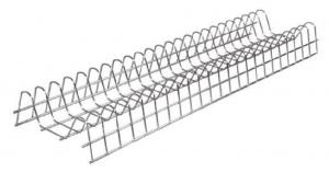 Πιατοθήκη ντουλαπιού νέου τύπου καθιστή-κρεμαστή επινικελωμένη  66.5cm