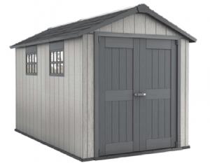 Αποθήκη απομίμηση ξύλου με διπλό τοίχωμα Oakland 7511