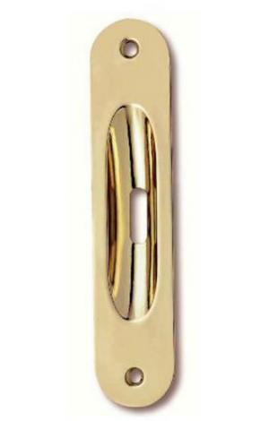 Χούφτα  συρόμενης πόρτας  χρυσό γυαλιστερό Νο 21