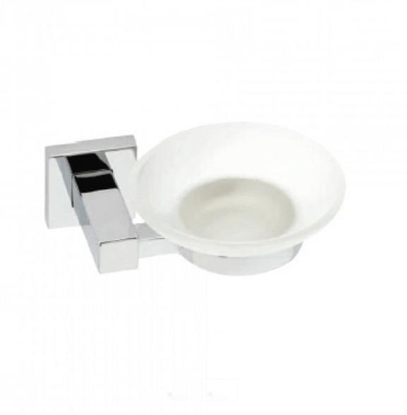 Σαπουνοθήκη Dispenser Μπάνιου Νίκελ με Στρόγγυλη Ροζέτα 4175