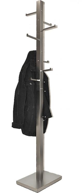 Καλόγερος ρούχων Μεταλλικός FCH-59 νίκελ ματ